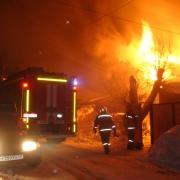 В Омске сгорели двое 16-летних подростков