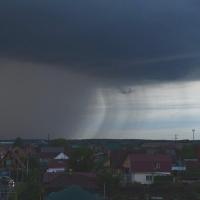 В воскресенье в Омскую область придет краткосрочное потепление с градом