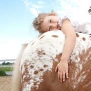 Лошади помогают детям справиться с ДЦП и другими недугами