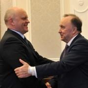 Валерий Павлович в гостях у Вячеслава Викторовича