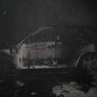 В Омске ночью горели два BMW X5