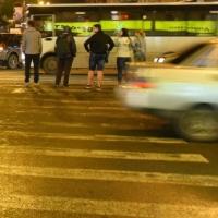 В Омске автоледи сбила девочку, ребенок в больнице