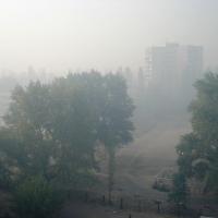 Дымка от лесных пожаров может быть опасна для омичей