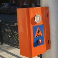 В Омске перекресток улиц Орджоникидзе и 16-я Северная стал безопаснее для пешеходов