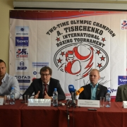 За призы турнира Алексея Тищенко поборются боксёры семи стран