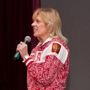 Омские волонтеры встретились с чемпионами
