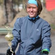 Омичка Евгения Данилова стала призером португальского забега