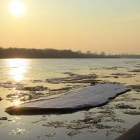 На Иртыше омичей может затянуть течением под лед