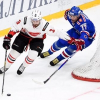 Омский «Авангард» выиграл у СКА в Санкт-Петербурге
