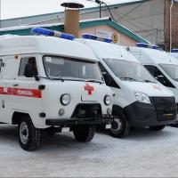 В Омской области стало на 33 машины скорой помощи больше