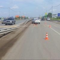 На пешеходном переходе трассы «Омск-Русская Поляна» сбили девочку
