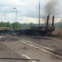 На Ставрополье по дороге в Омск взорвался грузовик с акриловым растворителем