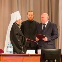 Омская епархия подписала соглашение о сотрудничестве с ОмГПУ