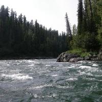 Омичка утонула в горной реке Красноярского края