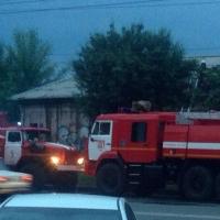 В Омске 26 пожарных тушили сварочный цех