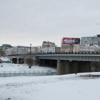 Комсомольский мост в Омске перекроют в первый день зимы