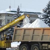 С омских улиц вывезли более 50 тысяч тонн снега