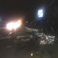 В лобовом ДТП в Омске погибла автоледи