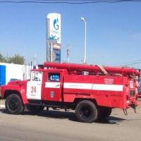В Омске два частных дома тушили 84 пожарных