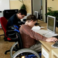 Омская область входит в число лучших регионов РФ по числу обратившихся в центр занятости инвалидов