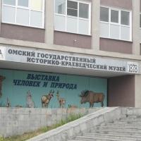 Омский музей залило талой водой