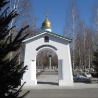 С омского кладбища украли еще два барельефа