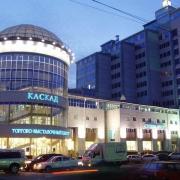 """В Омске горел торгово-офисный центр """"Каскад"""""""