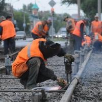 В Омске отремонтировали один километр трамвайных путей за 10 млн рублей