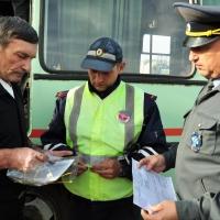 В Омске в рамках рейда специалисты выписали 11 протоколов нелегальным перевозчикам