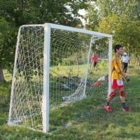 В Кировском округе на девочку упали футбольные ворота