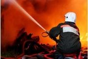 В Омске на Левобережье из огня спасены трое детей