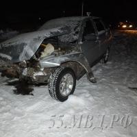 В Омской области 15-летний водитель совершил ДТП