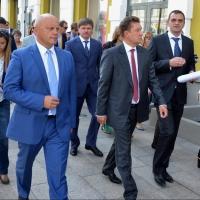 Алексей Миллер и Виктор Назаров обсудили ход газификации Омской области