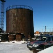 В Омске на 36-й Северной горел резервуар для мазута