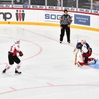 В матче омского «Авангарда» и финского «Йокерита» победитель определился в буллитах