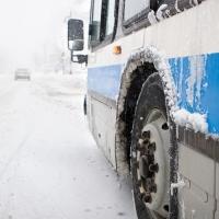 Из-за мороза не все омские маршрутки смогли выйти на работу