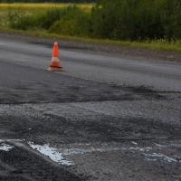 На въезде в Омск строят еще одну полосу для транспорта