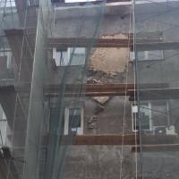 Ремонт на фасадах омских домов уже начали переделывать