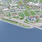 В Омске не будут делать автотрассу по набережной у Омской крепости