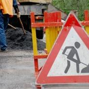 Ремонт дороги по улице Омской близится к завершению