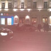 В центре Омска произошла авария на пешеходном переходе