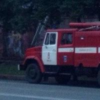 Крупный пожар в Омске, повреждено 11 единиц техники