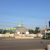 Ночью в Омске сгорел автобус, принадлежащий управлению благоустройства города