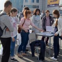 В рамках акции омичи и жители региона получили консультации от специалистов службы занятости