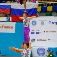Омичи привезли золото мирового первенства по спортивной акробатике