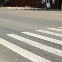 В Омске водитель легковушки сбил подростка на «зебре»