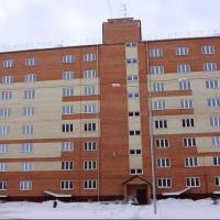 В Омске на Малиновского достроили две многоэтажки эконом-класса