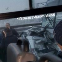 Омские полицейские проводят проверку по факту аварии с тремя погибшими