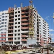 В Омске обрушился строящийся дом