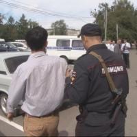 Омич, устроивший погром в здании мэрии, хотел проучить чиновников